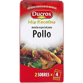 Ducros Sazonador de pollo Caja 24 g