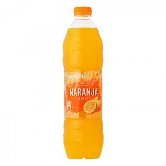 Carrefour Agua mineral Carrefour con zumo de naranja 1,5 l