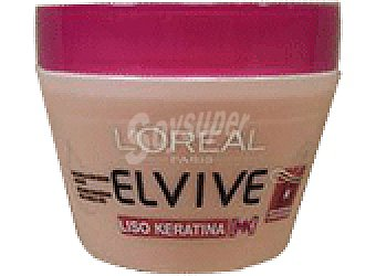 Elvive L'Oréal Paris MASCARILLA LISO KERATINA 300 ML