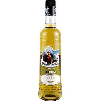 Sierra Del Oso Licor de orujo con hierbas botella 70 cl