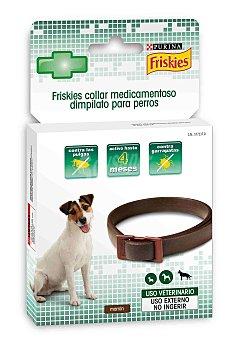 Friskies Collar Antiparasito Marrón para Perros Pequeños/Medianos 1 ud