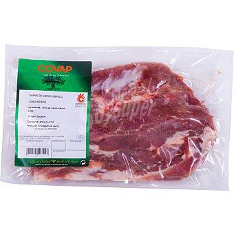 DEHESA DE GUADAMORA lomo fresco de cerdo ibérico pieza para asar peso aproximado envase 400 g