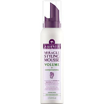 Aussie Miracle espuma Volume con extracto de algas de mar Australiano  spray 150 ml