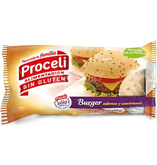 Proceli Pan burguer 2 UNI 180 G