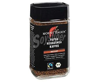 MOUNT HAGEN Café soluble de Papua Nueva Guinea, arábico y BIO 100 g