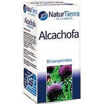 NaturTierra Alcachofa en cápsulas Caja 80 unid