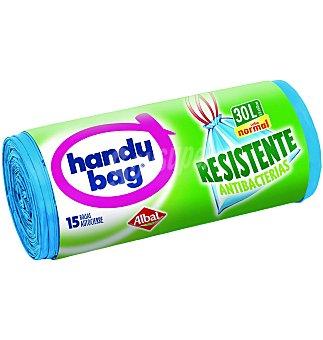 handy bag Bolsa de basura con cierre facil resistente 15 UNI