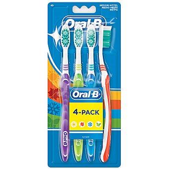 Oral-B Cepillo dental Shiny Clean basico blister 4 unidades 4 unidades
