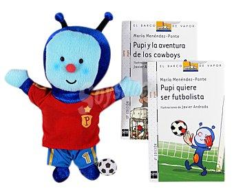 Editorial SM Pupi, pack futbolista, maría menéndez-ponte. Género: Infantil. Editorial: SM.