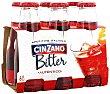 Biter con soda Pack 6 botellines x 10 cl Cinzano