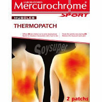 Mercurochrome Thermopatch Pack 2 unid