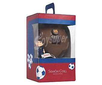 Simón Coll Figura balón de chocolate con escudo del barcelona 302 g