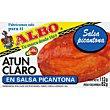 Atún claro salsa picante Albo 112g 112g Tres escudos