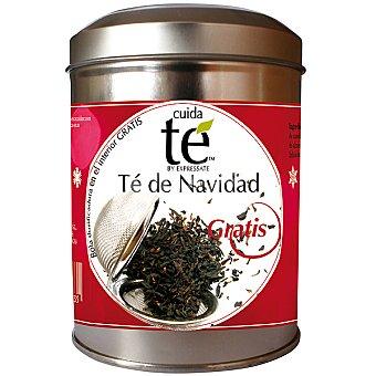 Cuidate té de Navidad con regalo de bola dosificadora Lata 100 g