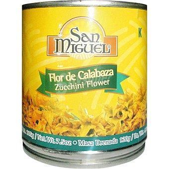 San Miguel Flor de calabaza Lata 120 g neto escurrido