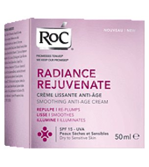 RoC Crema facial piel seca Radiance Rejuvenate 50 ml