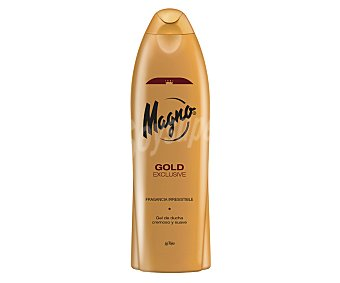 MAGNO gel de baño gold con regalo de pasta dental 2 en 1 Licor del Polo interdental frasco 75 ml botella 550 ml