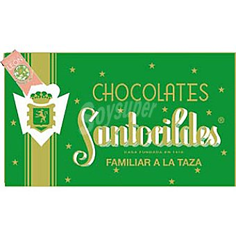 Santocildes Chocolate familiar a la taza Tableta 300 g