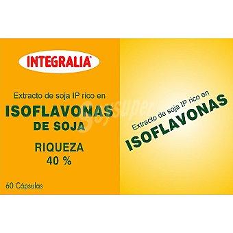 INTEGRALIA isoflavonas de soja estuche 60 capsulas