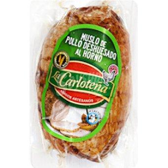 La Carloteña Muslo de pollo deshuesado asado Bandeja 280 g