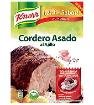 Knorr Sazonador cordero al ajillo sobre 32 g