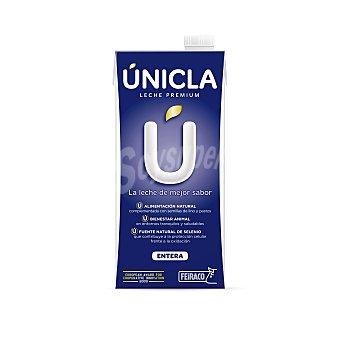 Únicla Leche entera UHT Brick 1 litro