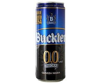 Buckler cerveza negra lata 33 cl