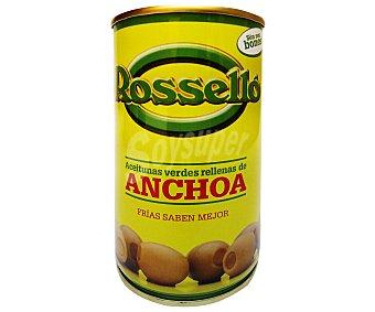 Roselló Aceitunas Rellenas de Anchoa 300 Gramos