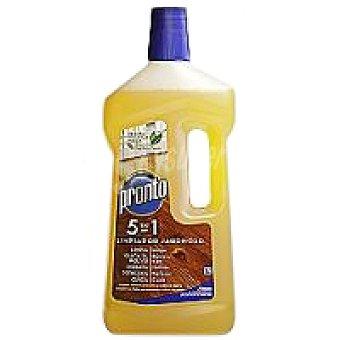 Pronto Limpiador jabonoso para madera Botella de 750 ml