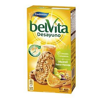 Fontaneda Belvita de muesli-naranja Paquete 300 g