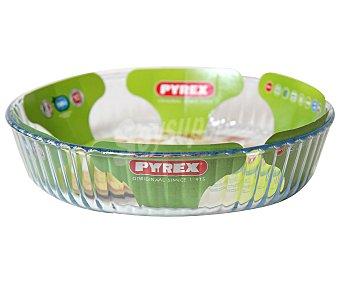 PYREX Molde ondulado de vidrio borosilicato, 26 centímetros de diámetro 1 Unidad