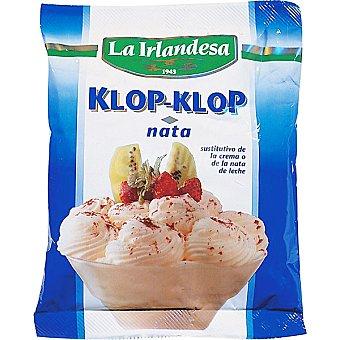 La Irlandesa Preparado para hacer nata vegetal Klop Klop Bolsa 80 g