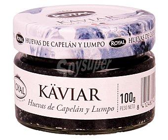 Royal Huevas de lumpo y capelán 100 gramos