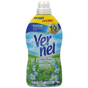 Vernel Suavizante concentrado cielo azul  Botella 57 dosis