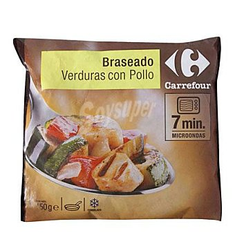 Carrefour Braseado Verdura con pollo 450 G 450 g