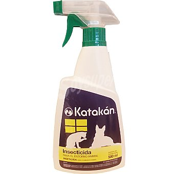 KATAKÁN Insecticida para el entorno animal  Spray de 500 ml