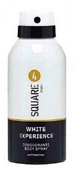 4 Square Desodorante spray hombre antimanchas perfume 4SQUARE white experience Bote 150 cc