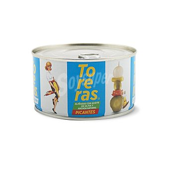 Kimbo Toreras picantes con anchoa Lata 120 g peso escurrido neto