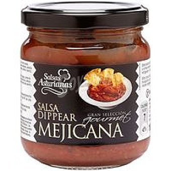 Salsas Asturianas Salsa Dippear mejicana Frasco 185 g