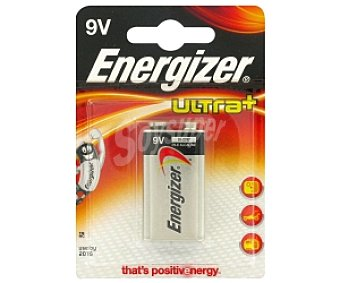ENERGIZER Ultra+ P. Alc. 6LR61 9V 1u 6LR