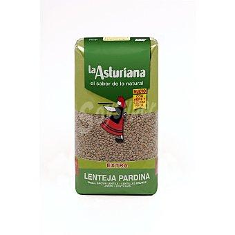 La Asturiana Lenteja pardina Paquete 1 kg