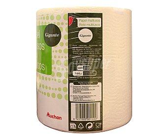 Auchan Rollo de papel de cocina multiusos gigante, 144 metros