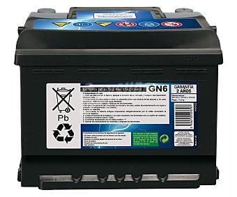 GENIUM Batería de Automóvil de 12v y 54 Ah, Potencia de Arranque: 520 Amperios 1 Unidad