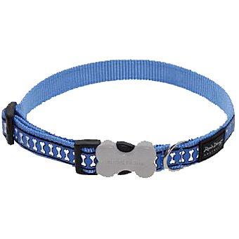 Red Dingo Collar de perro reflectante colores surtidos tamaño mediano ajustable 30-45 cm ancho 18 mm 1 unidad