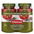 Salsa de tomate con aceite de oliva virgen extra sin gluten Pack de 2 tarros de 560 g Helios