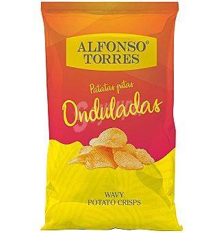 Alfonso Torres Patatas onduladas 170 g