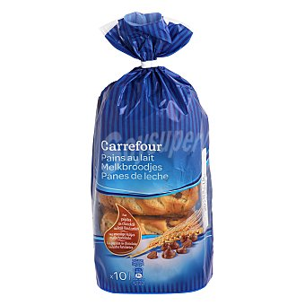 Carrefour Pan de leche c/pepitas de chocolate 350 g