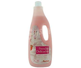 Auchan Detergente líquido para lavar a máquina y a mano prendas delicadas 45 lavados