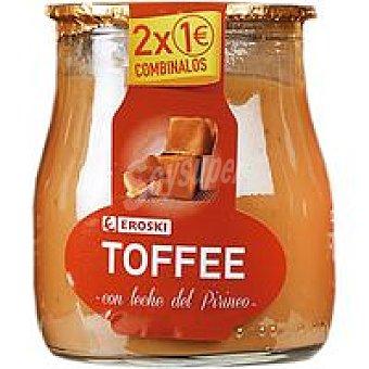 Eroski Postre de toffe de leche del Pirineo Tarro 135 g