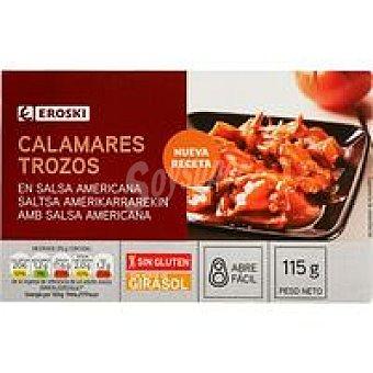 Eroski Calamar en salsa americana Lata 115 g